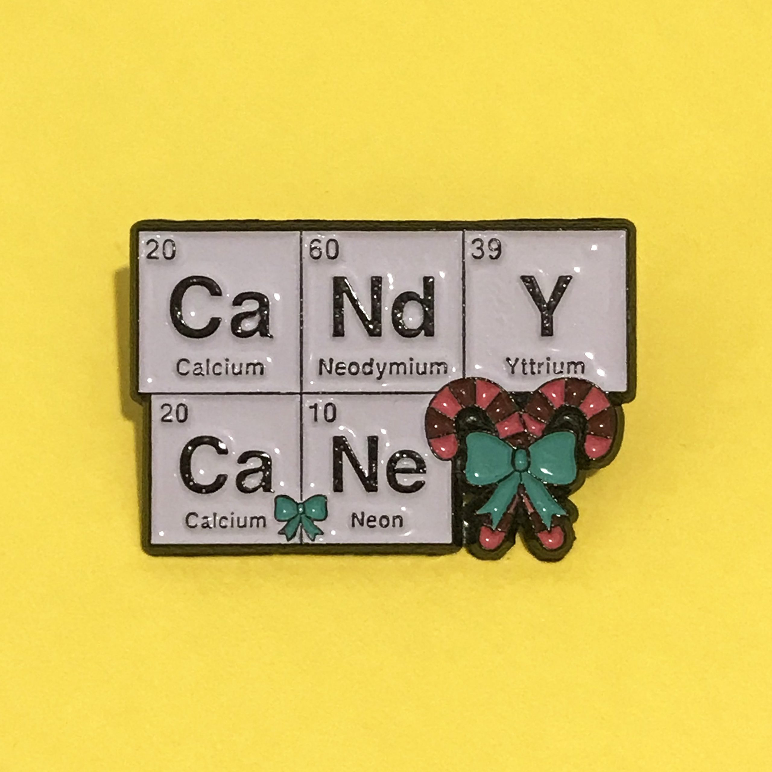 Candy Cane Science Periodic Table Elements Christmas
