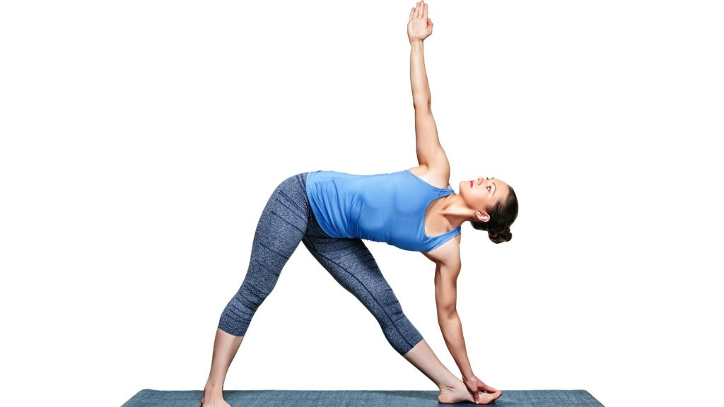 Trikonasana 1024x576 - 7 Best Yoga Poses to Keep Diabetes Under Control