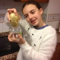 Germinando una patata
