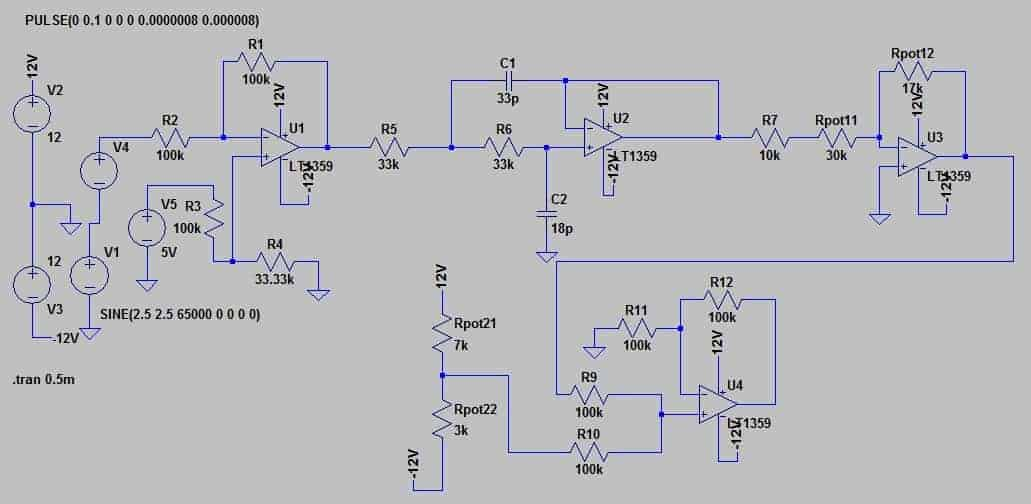 Modeling of analog part for DDS3 signal generator | Do It