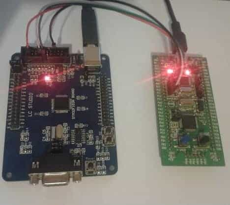 Downloading binaries using STM32 ST-Link Utility | Do It