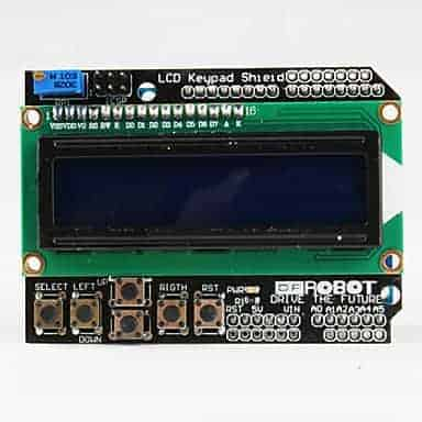 Testing LCD keypad Shield for Arduino | Do It Easy With ScienceProg