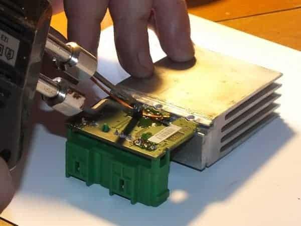 transistor_resoldering