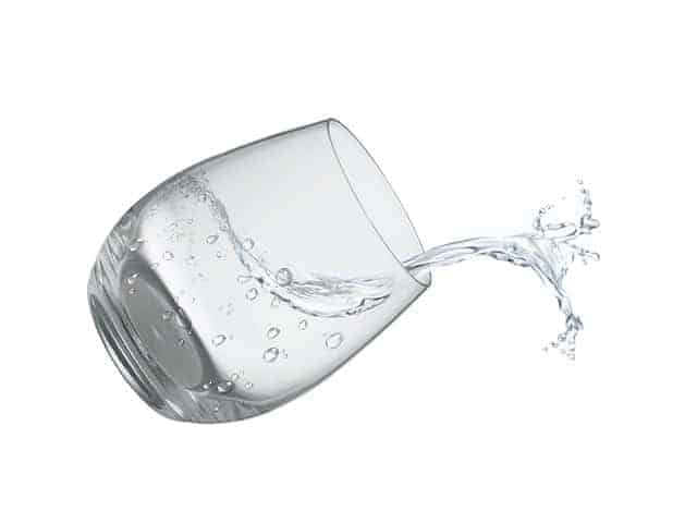 filtered water with RO
