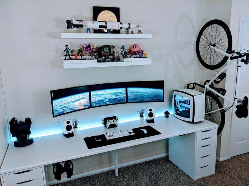 lighting your workstation