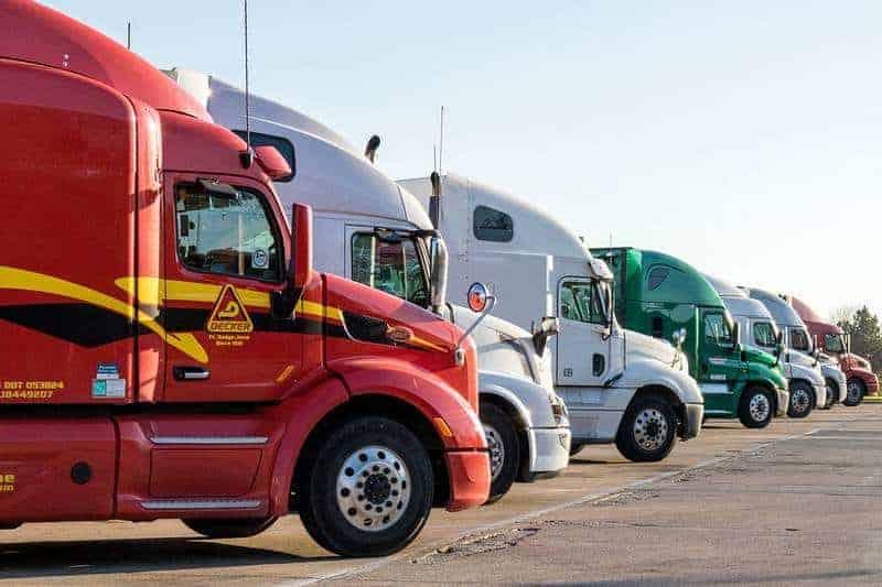 multiple trucks