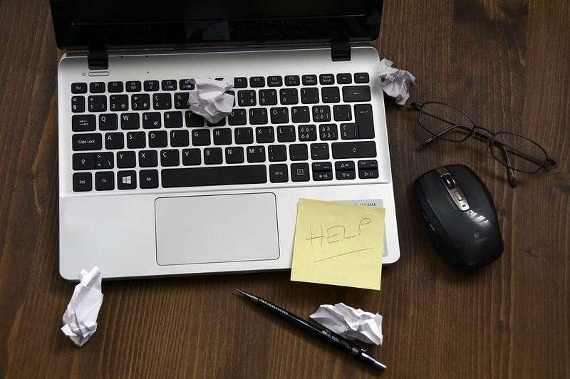 business laptop failure