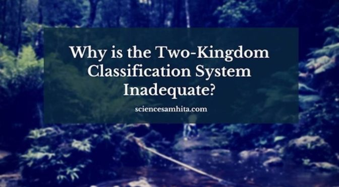Why is the Two-Kingdom Classification System Inadequate?