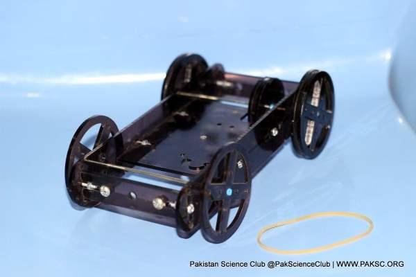 Rubber Powered Racer of STEM Kits