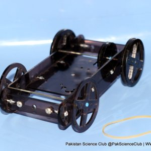 Rubber Powered Racer of STEM Kits