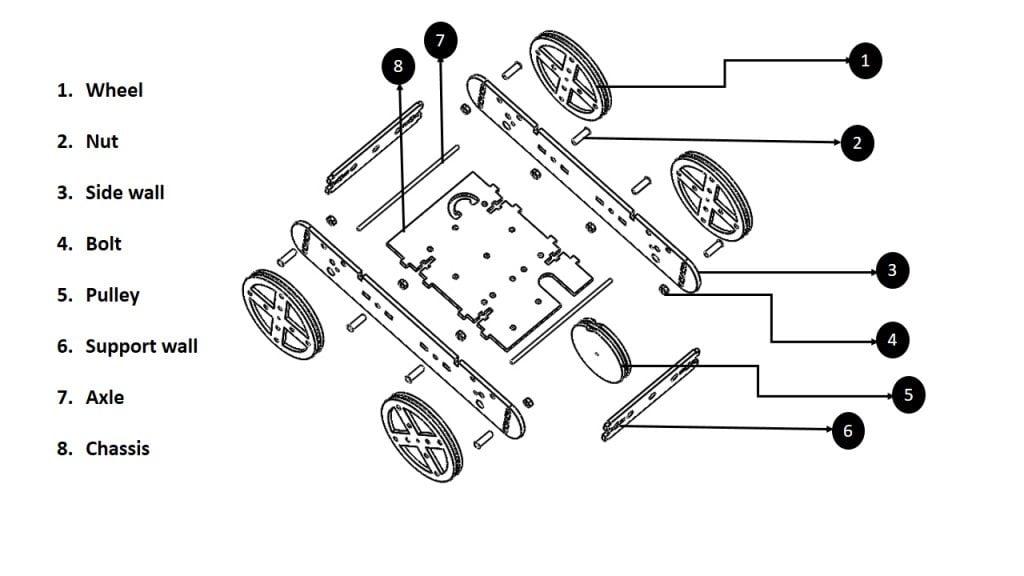 car racer sketch diagram
