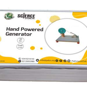 Science Exhibition Project Hand Powered Generator in pakistan