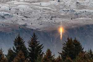 Start-up de foguetes Astra conseguiu chegar ao espaço com seu foguete Rocket 3.2