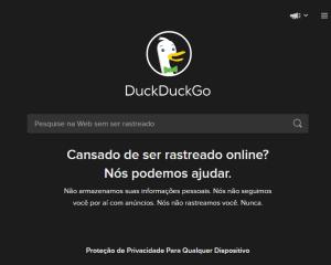 DuckDuckGo, alternativo do Google atinge 102 milhões de pesquisas pela primeira vez