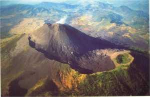 Cientistas identificam instabilidade do flanco em um vulcão com histórico de colapso