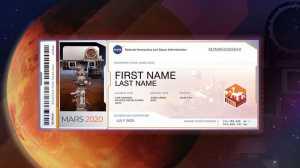 Quer seu nome em Marte, aqui está a oportunidade!