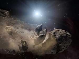 Um fragmento de cometa pode ter extinto os dinossauros, e não um asteroide