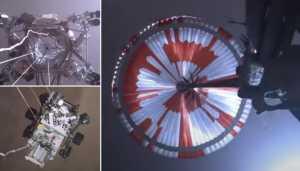 Humanos nunca tinham visto uma nave espacial pousar em outro planeta