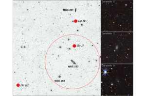 Três novas Galaxias Anãs são descobertas