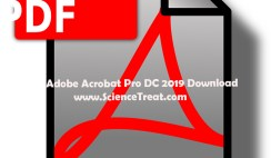 adobe acrobat pro dc 2019. sciencetreat.com