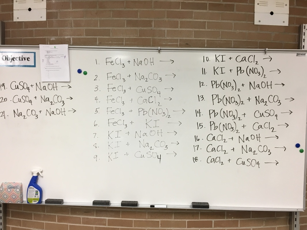 Mrs Yates Chemistry And Act Prep Classes