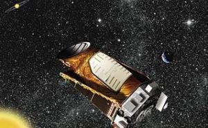 Illustration of Kepler spacecraft.