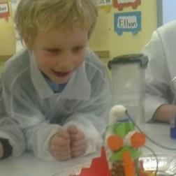 Exploding Aliens at School