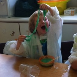 Having fun at a Science Camp