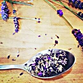 How to make lavender ice cream