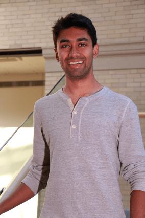 MIT physics graduate student Sagar Vijay