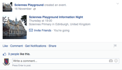 https://www.facebook.com/SciennesPlayground