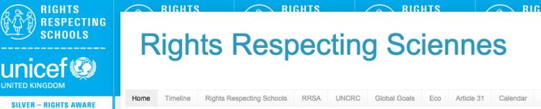 Previous Sciennes RRS website