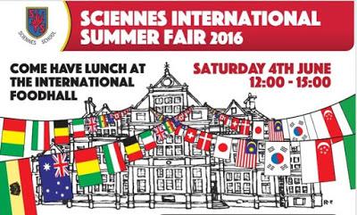 sciennes international summer fair logo