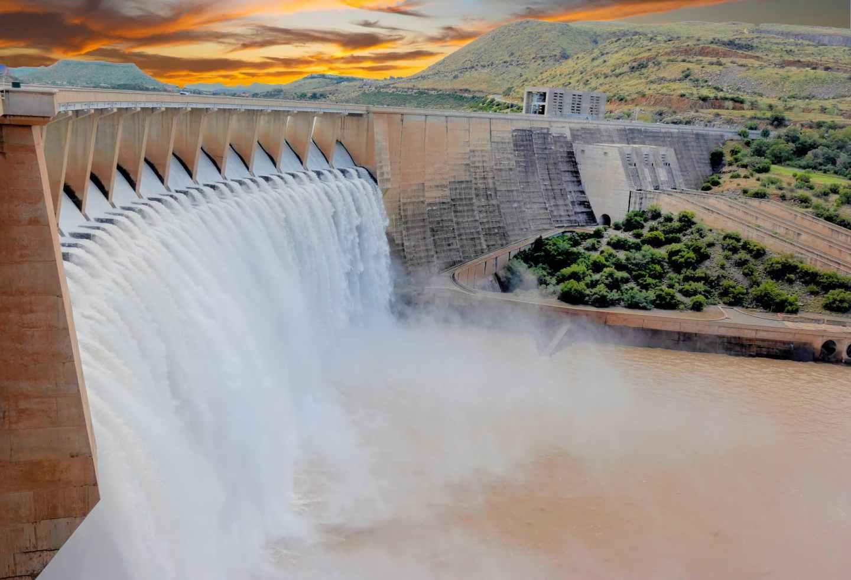 scenic photo of water dam during daytime
