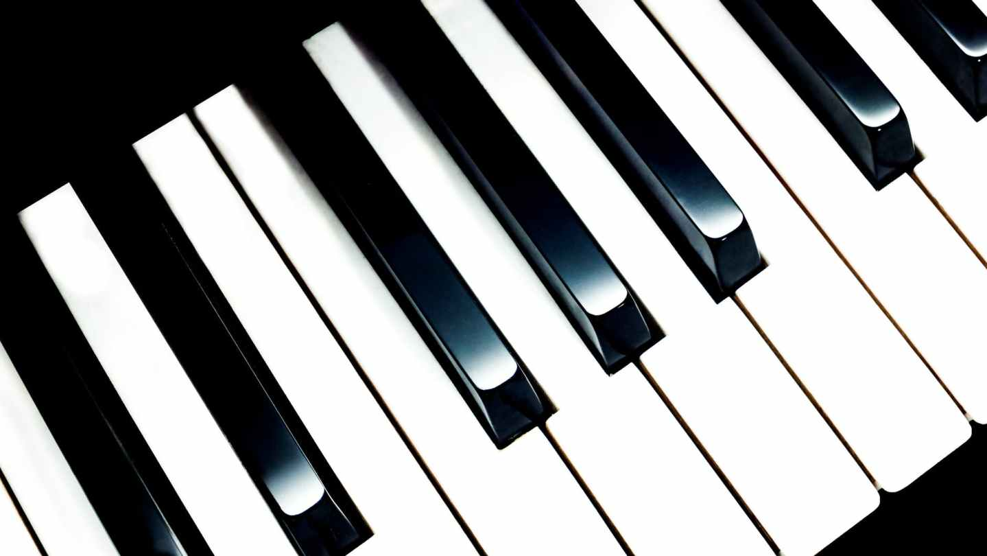 piano keys illustration