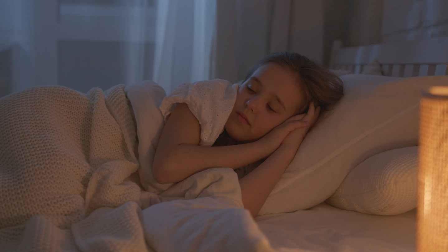 girl sleeping soundly