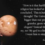 Carl Sagan On The Issue Of 'God'