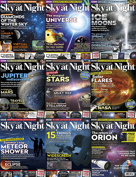 BBC-Sky-at-Night-2018-Full-Year BBC Sky at Night - 2018 Full Year Collection