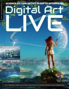 download Digital Art Live - Issue 28, April 2018