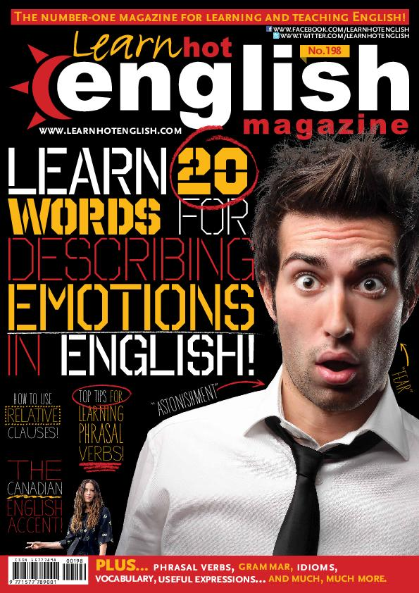 Learn Hot English magazine – November 2018