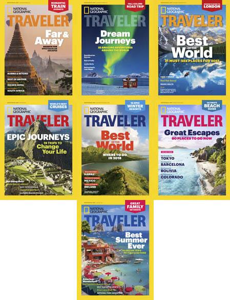 National-Geographic-Traveler-USA-2017-Full-Year-Issues-Collection National Geographic Traveler USA - 2017 Full Year Issues Collection