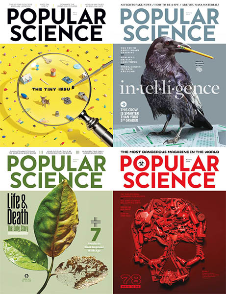 download Popular Science USA - 2018 Full Year Collection