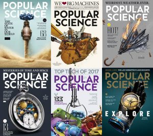 download Popular Science USA - 2017 Full Year Collection