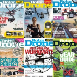 scientificmagazines Rotor-Drone-Full-Year-2018-Collection Rotor Drone USA - 2018 Full Year Collection Aviation Consumer Electronics Full Year Collection Magazines  Rotor Drone USA