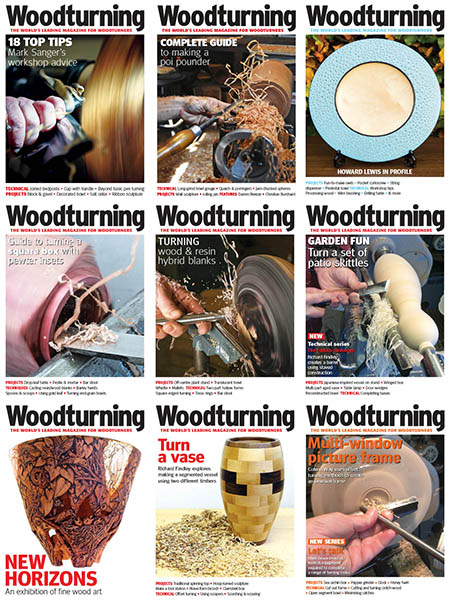Woodturning-Full-Year-2018-Collection Woodturning - Full Year 2018 Collection