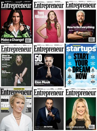 Entrepreneur USA - 2018 Full Year Collection