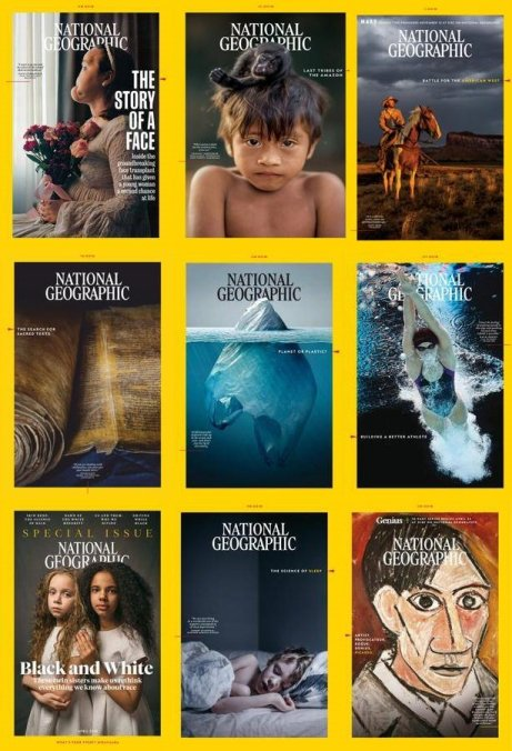 National-Geographic-USA-2018-Full-Year-Issues-Collection National Geographic USA - 2018 Full Year Collection