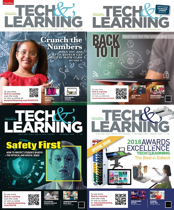 Tech & Learning - 2018 Full Year Collection