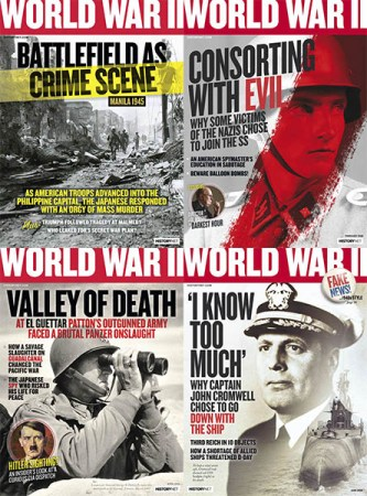 World-War-II-2018-Full-Year-Issues-Collection World War II - 2018 Full Year Issues Collection