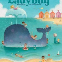 scientificmagazines Ladybug-July-2018 Ladybug - July 2018 For Kids & Teens  Ladybug